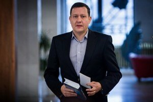 Líder mimoparlamentného hnutia NOVA a poslanec NR SR Daniel Lipšic.