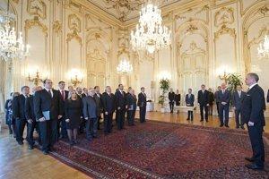 Prezident SR Andrej Kiska a profesori.