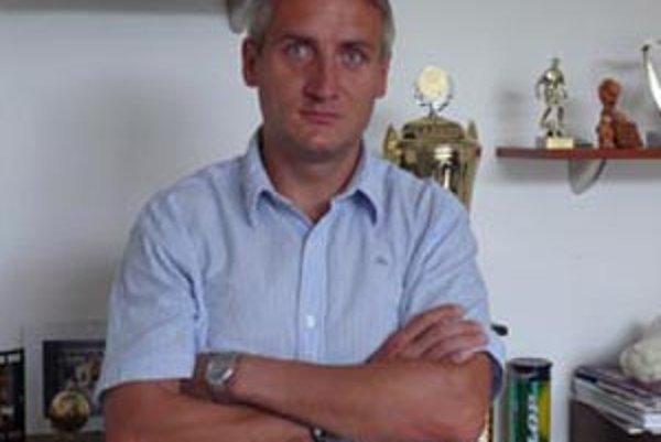 Robert Šuník, prezident klubu FC Baník Horná Nitra.
