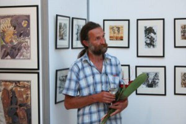 Rudolf Cigánik v Prievidzi predstavil svoje diela.
