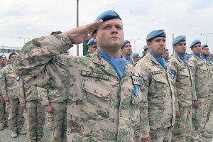 Z misie OSN sa vrátilo 84 vojakov, ktorých v týchto dňoch strieda nový kontingent.