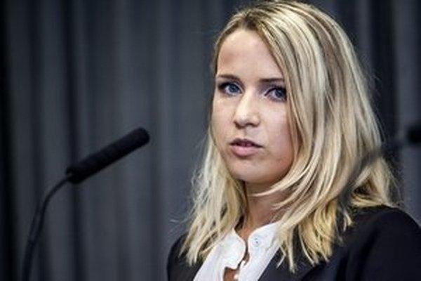 Katarína Svrčeková.