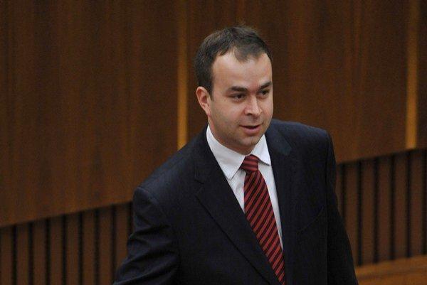 Poslanec Národnej rady za Smer Ján Podmanický.