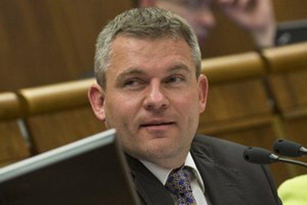 Šéf parlamentu Peter Pellegrini.