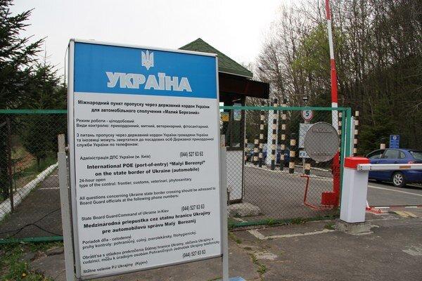 Slovensko-ukrajinský hraničný priechod Ubľa.