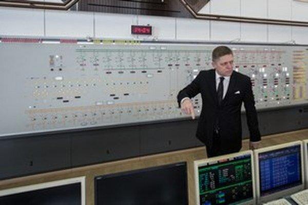 Premiér Robert Fico v Gabčíkove.