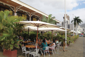 Vhlavnom meste Port Luis