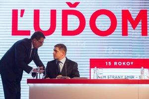 Pavol Paška a Robert Fico.