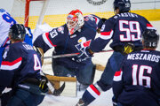 Hokejisti Slovana inkasovali už dva góly.