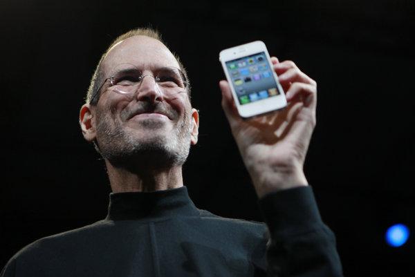 Steve Jobs v roku 2010.