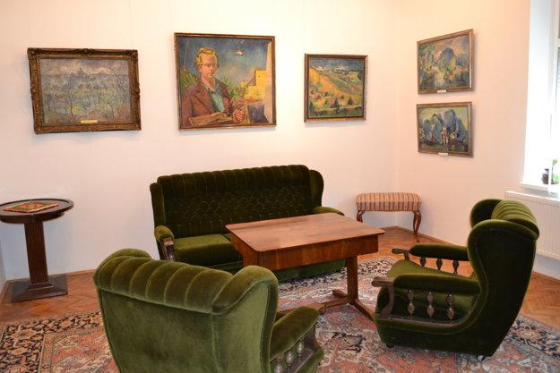 Izba mapujúca začiatky jeho tvorby.