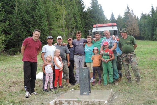 Na brigádach pracovali najmä členovia Klubu turistov zNovej Bystrice.