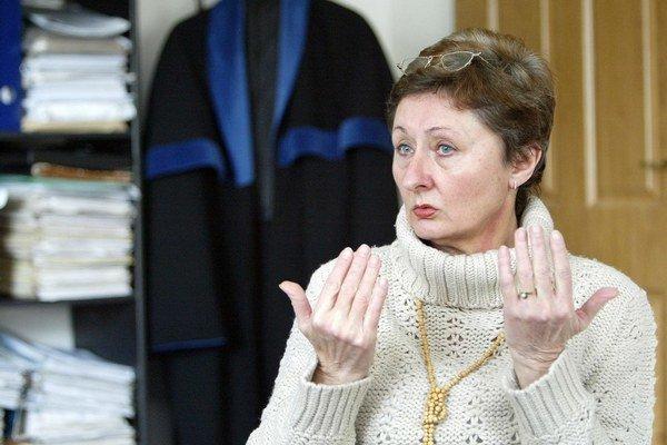 Advokátka Mária Mešencová.