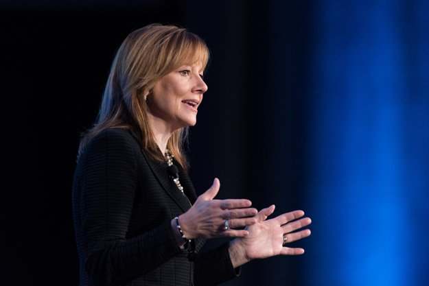 Mary Barra, riaditeľka koncernu General Motors.