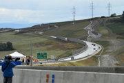 Úsek rýchlostnej cesty R2 neďaleko Bánoviec nad Bebravou.