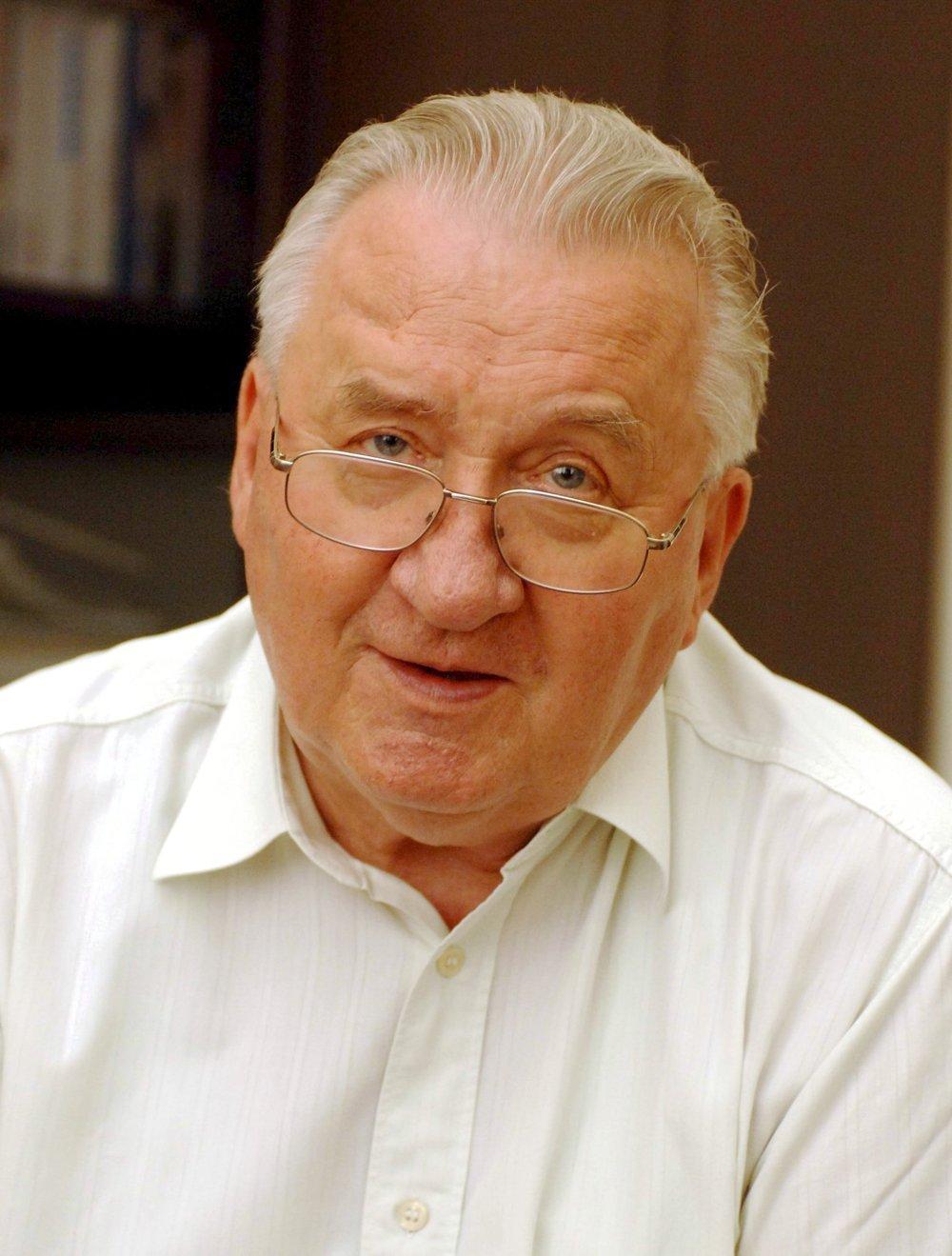 Portrét Michala Kováča z roku 2005.