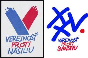 Pôvodné logo a nové využitie.