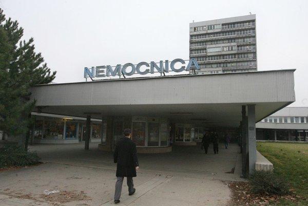Nemocnica v bratislavskom Ružinove.