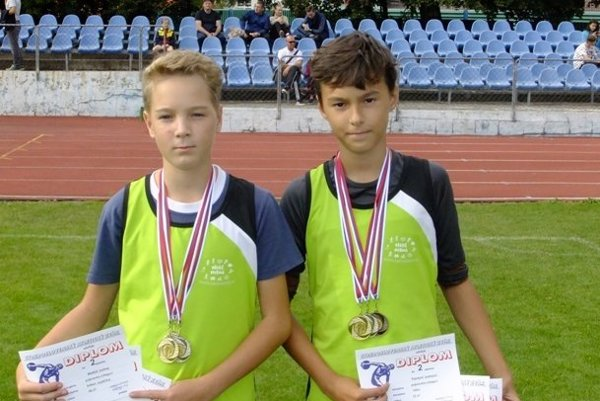 Bratia Jurinovci získali v Dubnici až 6 medailí.