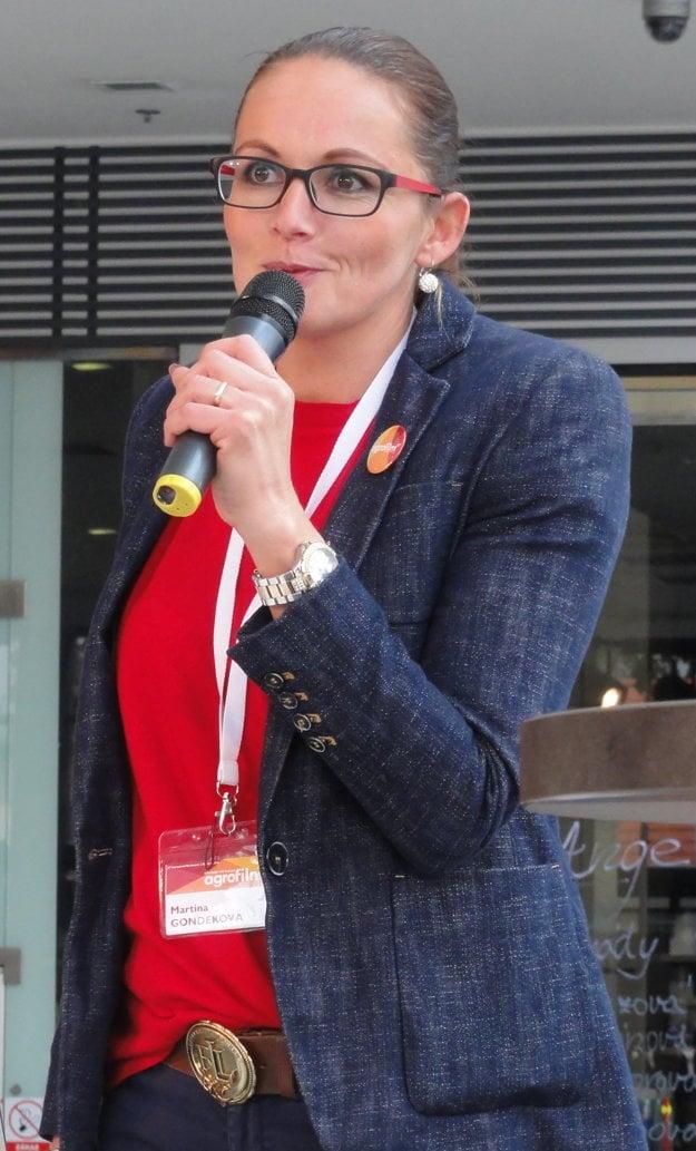 Martina Gondeková ľudí vyzvala, aby sa nebáli potravín zo Slovenska.