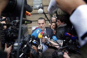 Francúzsky právnik Franck Berton, bývalý právny zástupca Salaha Abdeslama.