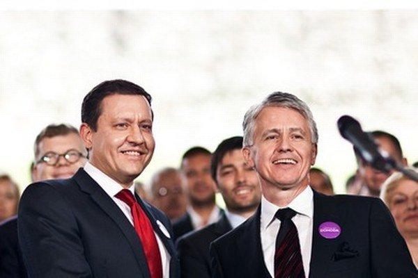 Lipšic a Kollár v máji 2013.