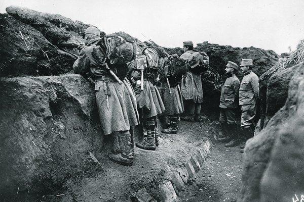 Tisícky slovenských vojakov strávili vojnu v zákopoch v uniformách rakúsko-uhorskej armády.