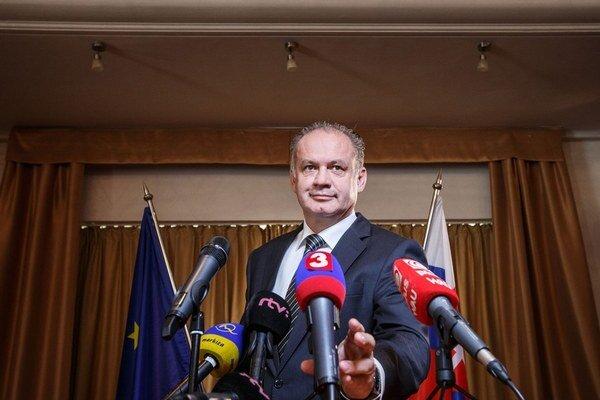 Andrej Kiska pozval slušných ľudí, ktorí sa nebáli ozvať.