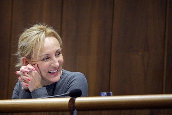 Poslankyňa Renáta Zmajkovičová.