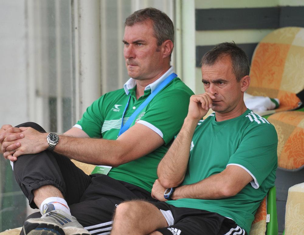 Tandem, ktorý už neplatí. Kompetencie hlavného trénera preberá Ján Karaffa. (vpravo).
