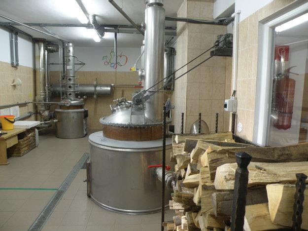 Pálenica v Kocuranoch v minulosti pracovala v októbri naplno, teraz je v nej pusto.