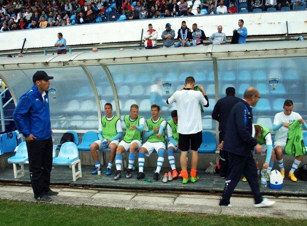 """Tréner Michal Kuruc (vľavo) ide do Španielska s odhodlaním. """"Ani v prvom zápase sme neboli horším mužstvom,"""" vraví."""