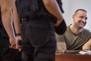 Juraj Ondrejčák alias Piťo počas súdneho pojednávania na Špecializovanom trestnom súde v Pezinku.