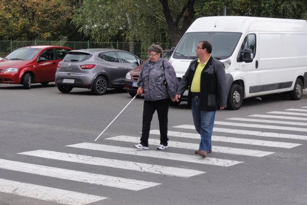 Nevidiaci testovali vodičov