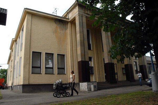 Kultúrny dom v Sobranciach.
