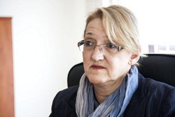Starostka Devína Ľubica Kolková.