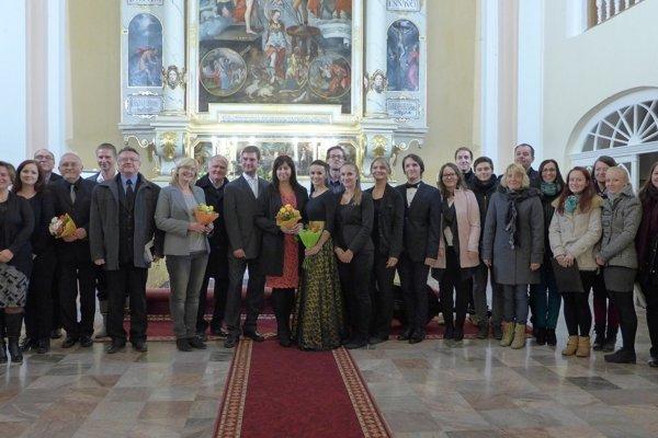 Účinkujúci, ktorí vytvorili pôsobivý program Palatínovo dedičstvo.