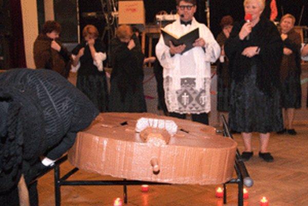 Pochovanie basy symbolicky ukončuje na obdobie pôstu čas zábav.