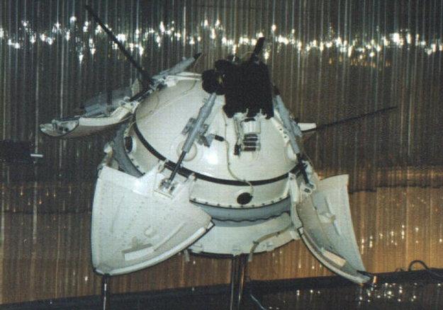 Model landeru Mars 2.