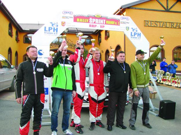 Najlepší na Rally Vranov.