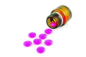 Ružová tabletka