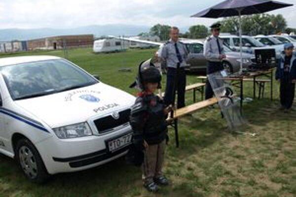 Deň polície sa teší veľkej popularite hlavne u detí.