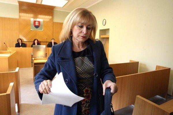 Exministerka spravodlivosti Viera Petríková.