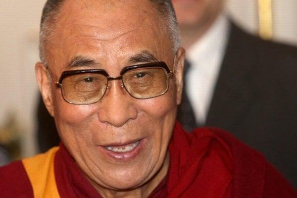 Tibetský duchovný vodca dalajláma.