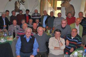 Spomínali. Bývalí hráči Starej Ľubovne sa zišli po desaťročiach.