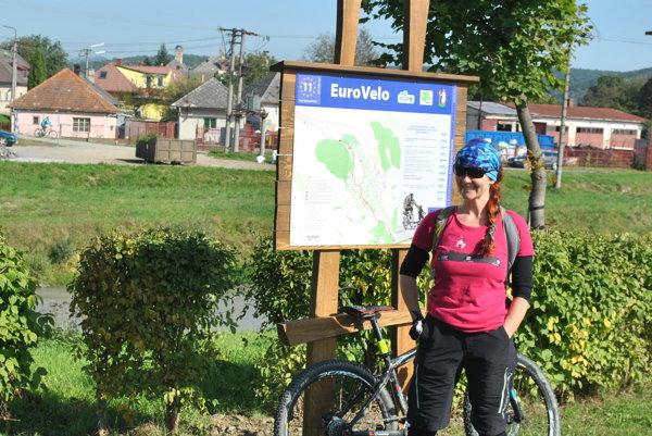 EuroVelo11. Jeho trasa povedie aj Prešovským krajom.