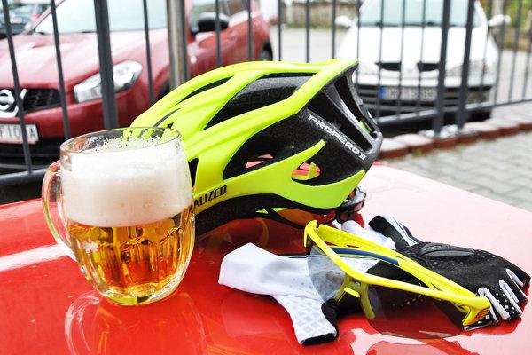 Cyklisti si  už od novembra bez obáv môžu dať pivo.