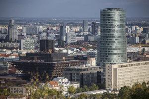 Výškové budovy v Bratislave