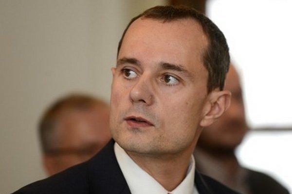 Kandidát na prezidenta Radoslav Procházka.