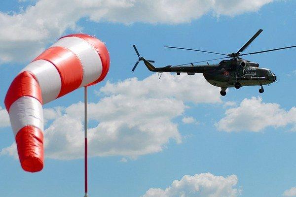 Vrtuľník Mi17.